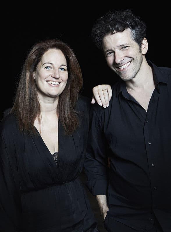 Caroline Mutuel & Sébastien d'Hérin par C. Rouillat